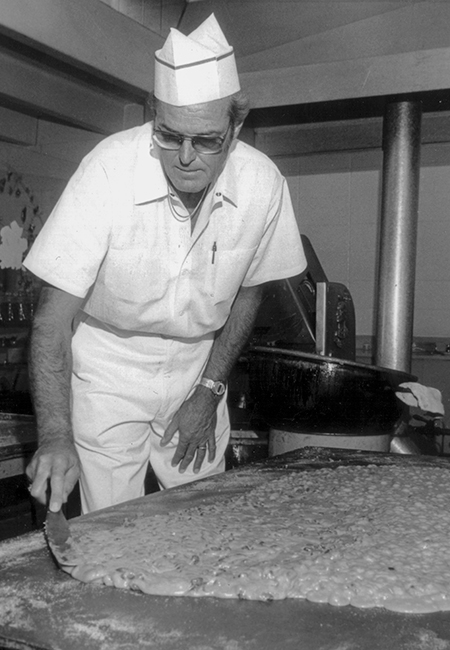 Emil Enstrom Making Almond Toffee