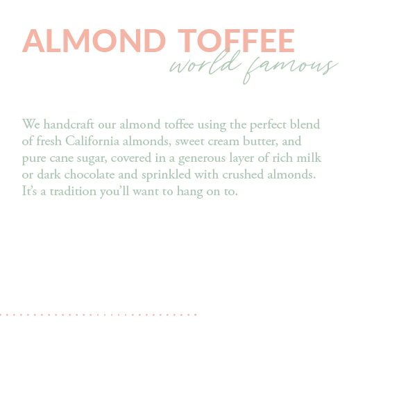 Easter Almond Toffee
