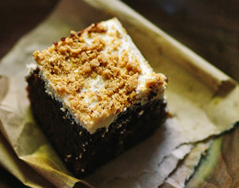 recipe - Enstom's Toffee and Coffee Frosting