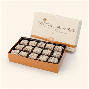 Milk & Dark Chocolate Toffee Petites 15oz 30pc