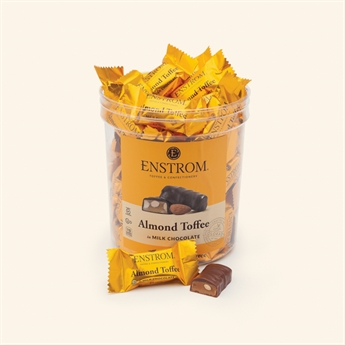 Almond Toffee Singles Milk Chocolate Tub
