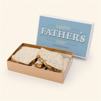 Milk Chocolate Almond Toffee Father's Day Box
