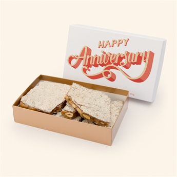 Milk Chocolate Almond Toffee Anniversary Box