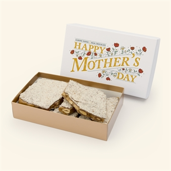 1lb Milk Chocolate Almond Toffee in Mother's Day Box