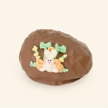 Milk Chocolate Coconut Cream Decorated Egg 5oz