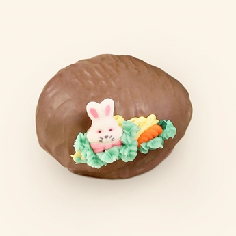 Milk Chocolate Coconut Almond Chew Decorated Egg 5oz