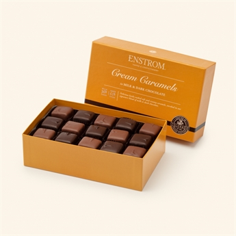 Cream Caramels Milk & Dark Chocolate</<br> 30pc 26oz