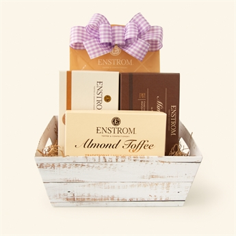 Toffee & Turtles Gift Basket